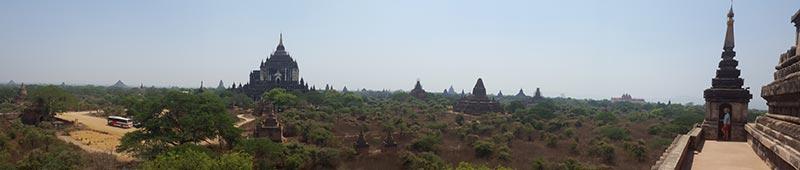 Temples in Bagan, Myanmar - Burma