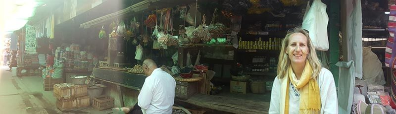 Nyaung-U market in Bagan, Myanmar