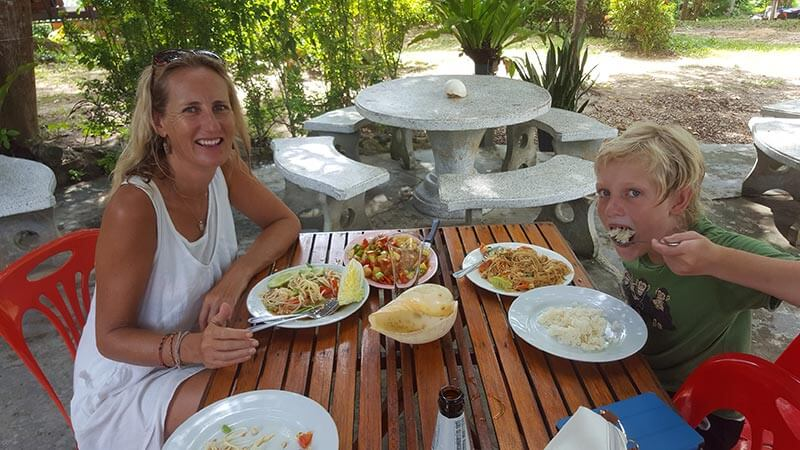 Lunch on Koh Bulon Le - Thailand