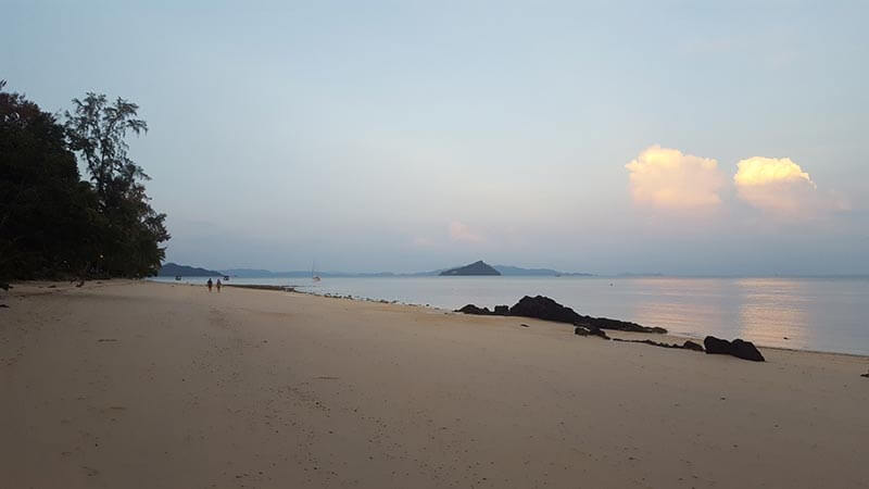 Sunset on Koh Bulon Le - Thailand