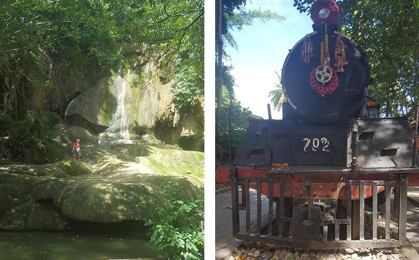Kanchanaburi death railway - hellfire Pass