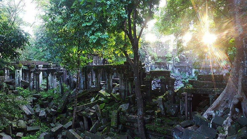 Beng Melea Temple near Siem Reap