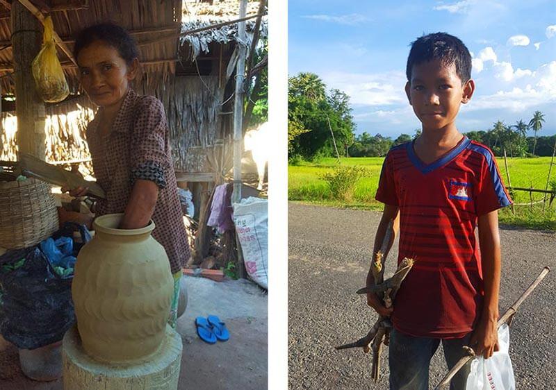 Kampong Chhnang pottery village