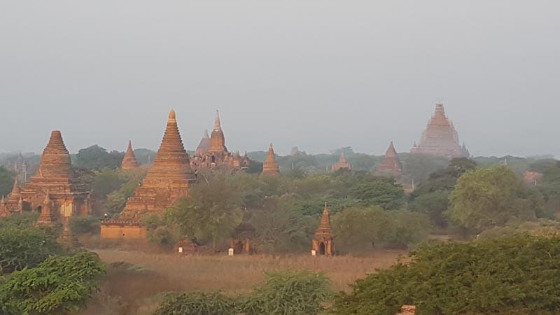 Pagodas in Bagan, Myanmar - Burma