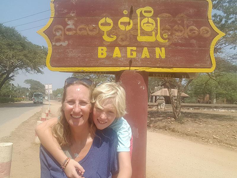 Old Bagan Town