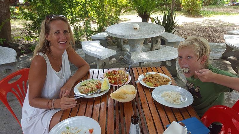 Lunch on Koh Bulon Le - Thailand