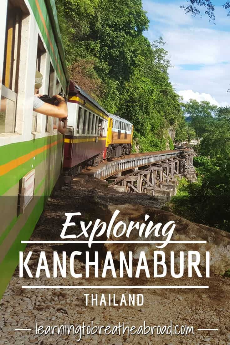 Exploring the Death Railway in Kanchanaburi, Thailand including Hell Fire Pass, the Bridge over the River Kwai and Sai Yok Waterfall. A comprehensive list of things to do in Kanchanaburi related to the Death Railway. Kanchanaburi Travel | Thailand Travel | Things to do in Kanchanaburi | #kanchanaburi #deathrailway #riverkwai #ThingsToDoIn #thailandtravel