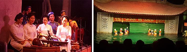 Water Puppet Show - Hanoi
