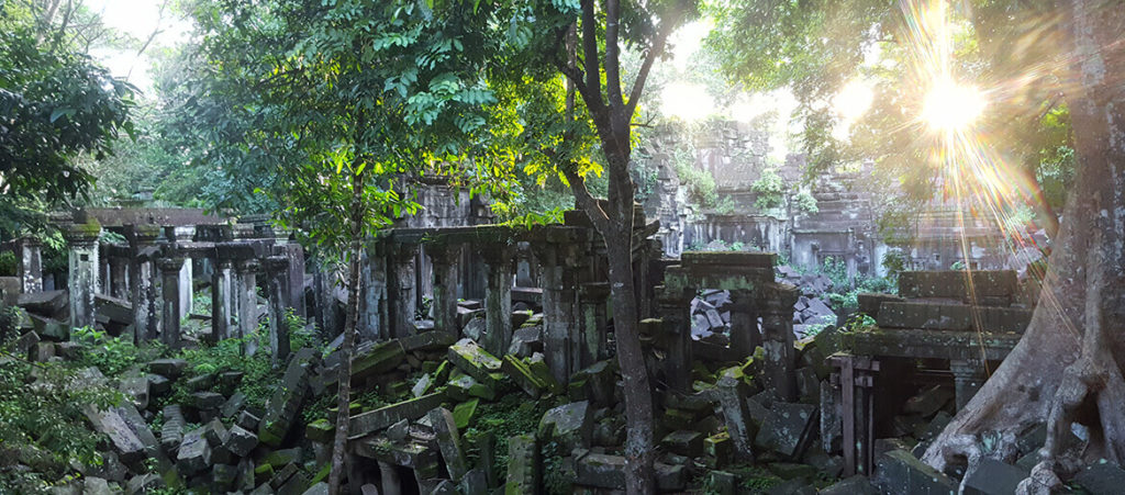 Beng Melea Temple and Tonle Sap Lake