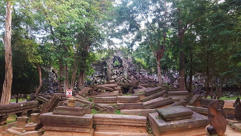 Beng Melea Temple near Siem Reap