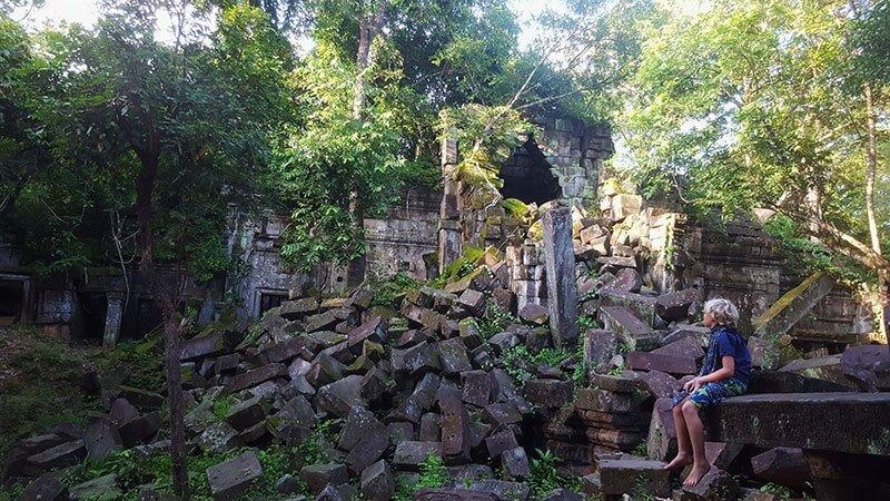Beng Melea Temple, Siem Reap, Cambodia