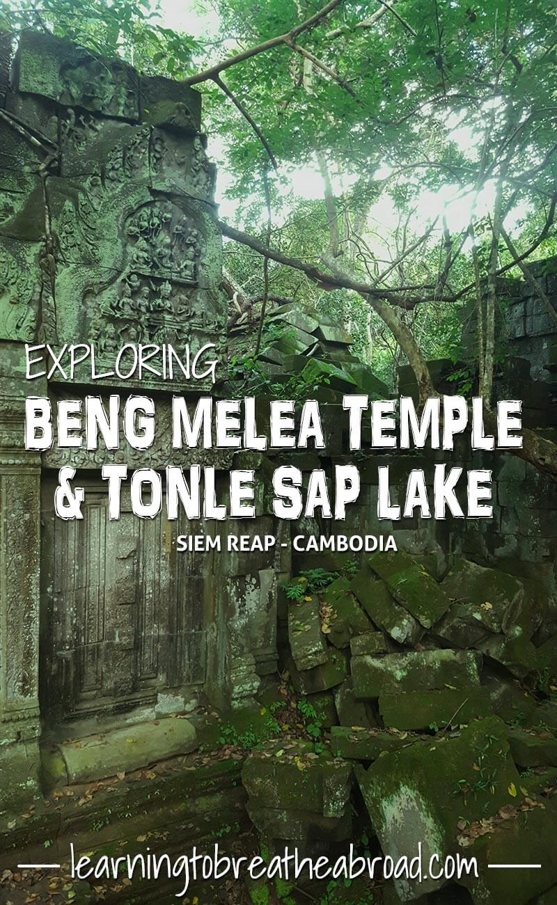 Beng Melea temple near Siem Reap, Cambodia, a wonder to behold | Temples in Cambodia | Angkor Wat Temples | Tonle Sap Lake Travels | Things to do in Siem Riep | Travel Cambodia | Things to see in Cambodia | Siem Reap Travel