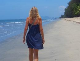 maungmagan beach in Dawei in Myanmar -Burma