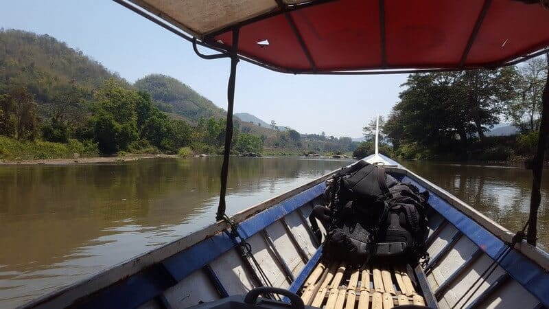 Adventurous boat ride from Thaton to Chiang Rai on the Kok River