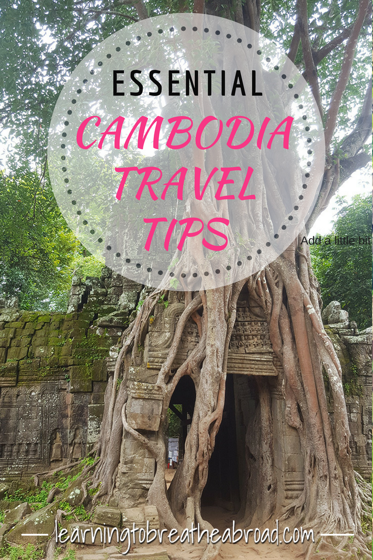 Tips for traveling in Cambodia