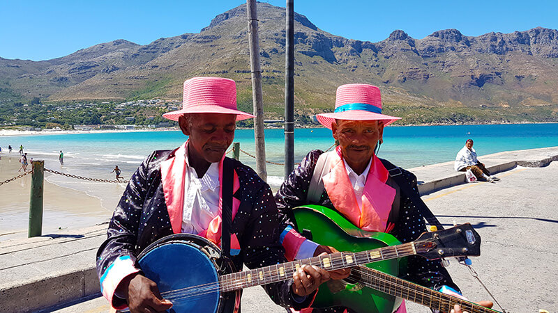 Things to do in Hout Bay: Cape Mnstrals on Hout Bay Beach Hout bay, Cape Town, South Africa