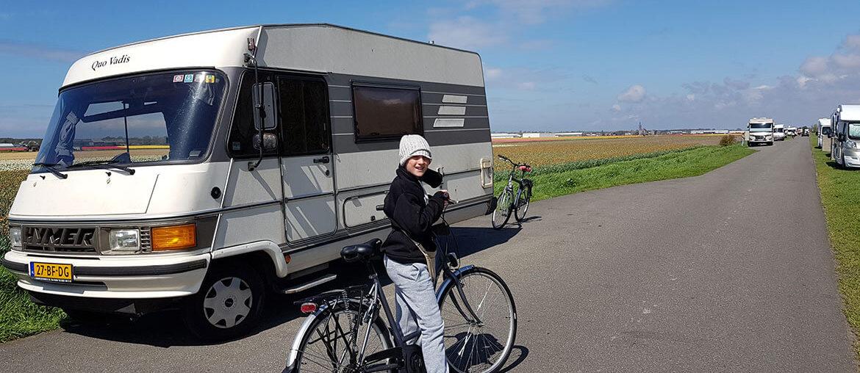 Campervan stops through Europe