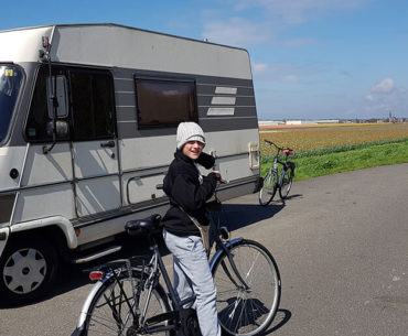 Campervan stops through Europe