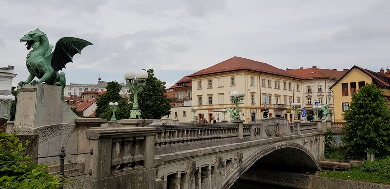 Things to do in Ljubliana: Dragons Bridge