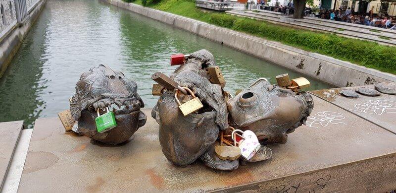 Things to do in Ljubliana: Butchers Bridge