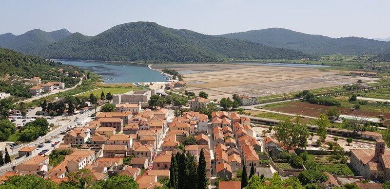 peljasec peninsula- ston - salt pans of ston