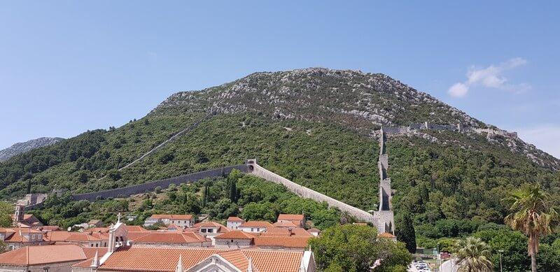 Peljasec peninsula - Ston - Walls of Ston