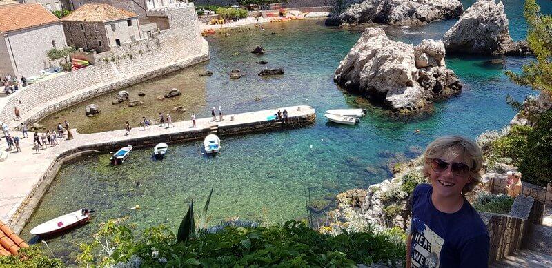 View from Fort Lovrijenac, Dubrovnik, Croatia