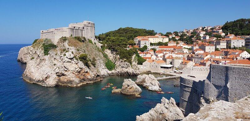 Things to see in Dubrovnik Croatia - Fort Lovrijenac