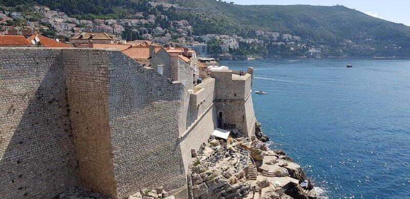 Dubrovnik Old City Walls Croatia