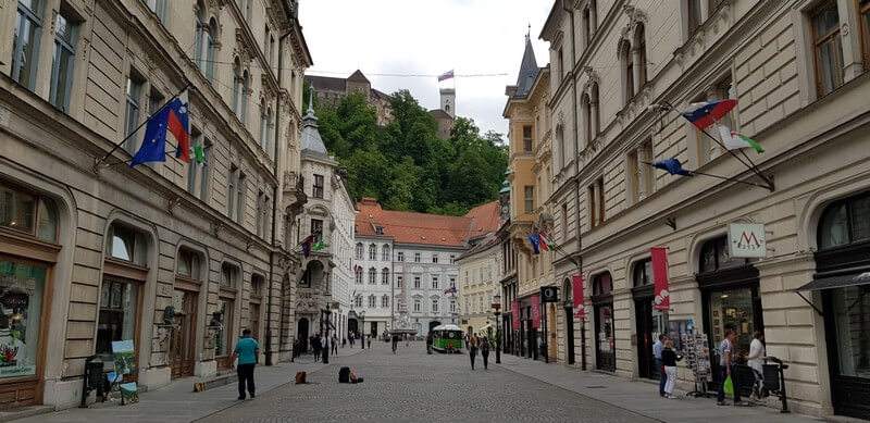 Things to do in Ljubliana: Wander The City Streets