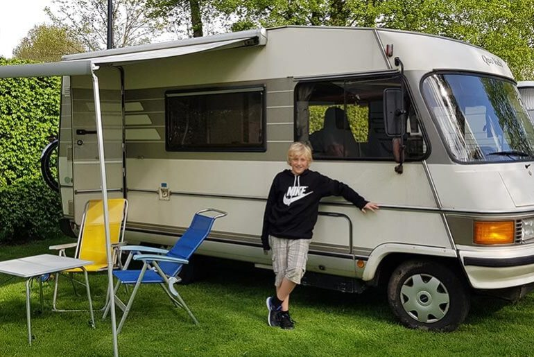 Miles McFlattery our campervan