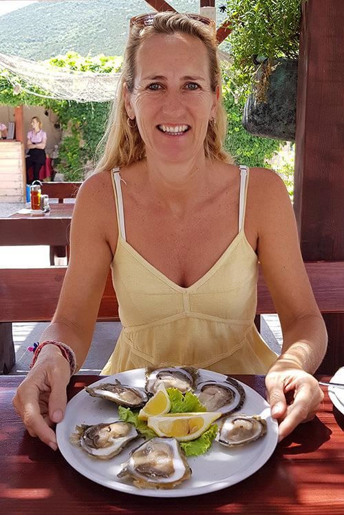 Peljasec peninsula - hodilje - oysters