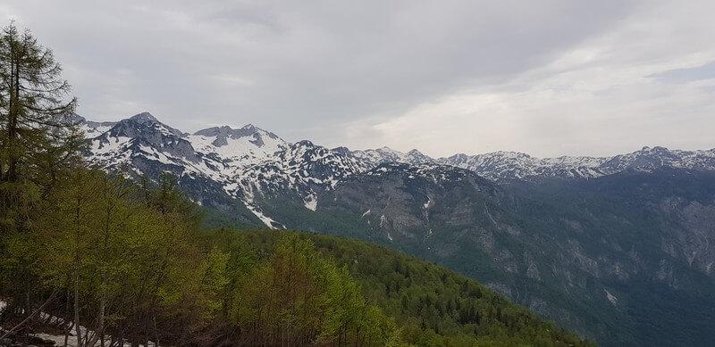 Julian Alps from Mount Vogel