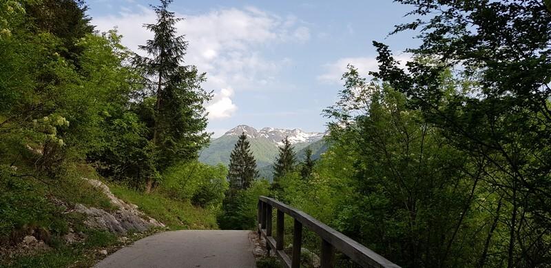 Cycle to Lake Bohinj