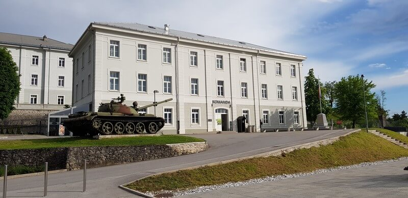 Our favourite things to do in Slovenia's Karst Region: Military Museum at Pivka