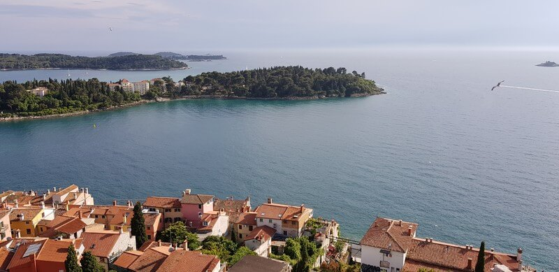 Things to do in Rovinj: Climb the tower of St Euphemia
