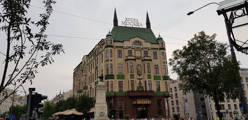Things to do in Belgrade: Terazijska Fountain (Hotel Moskva)