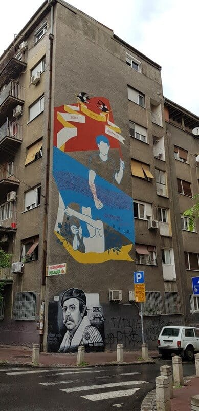 Things to do in Belgrade: Wall art
