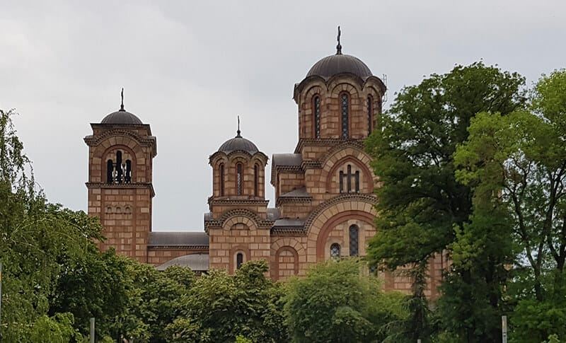 Things to do in Belgrade: St Mark's Church