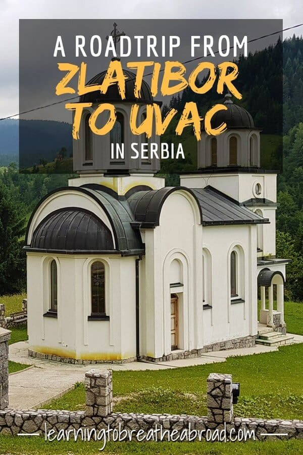 A road trip from Zlatibor to Uvac in Serbia