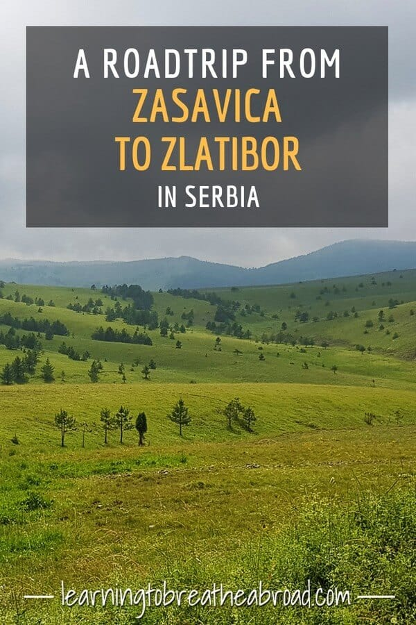 A road trip from Zasavica to Zlatibor in Serbia