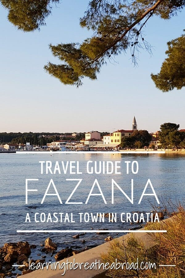 A travel guide to Fazana, a coastal town in Croatia