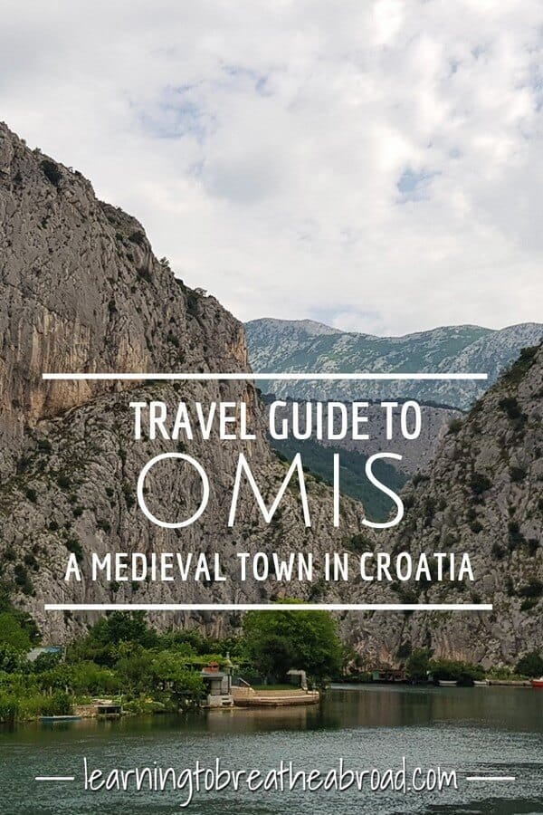 A travel guide to Omis, a medieval town in Croatia