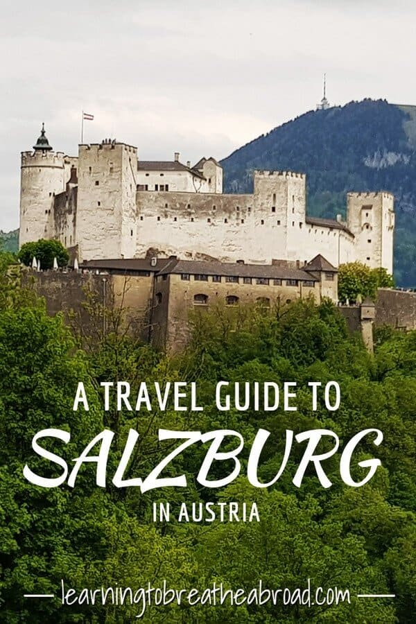 A travel guide to Salzburg in Austria