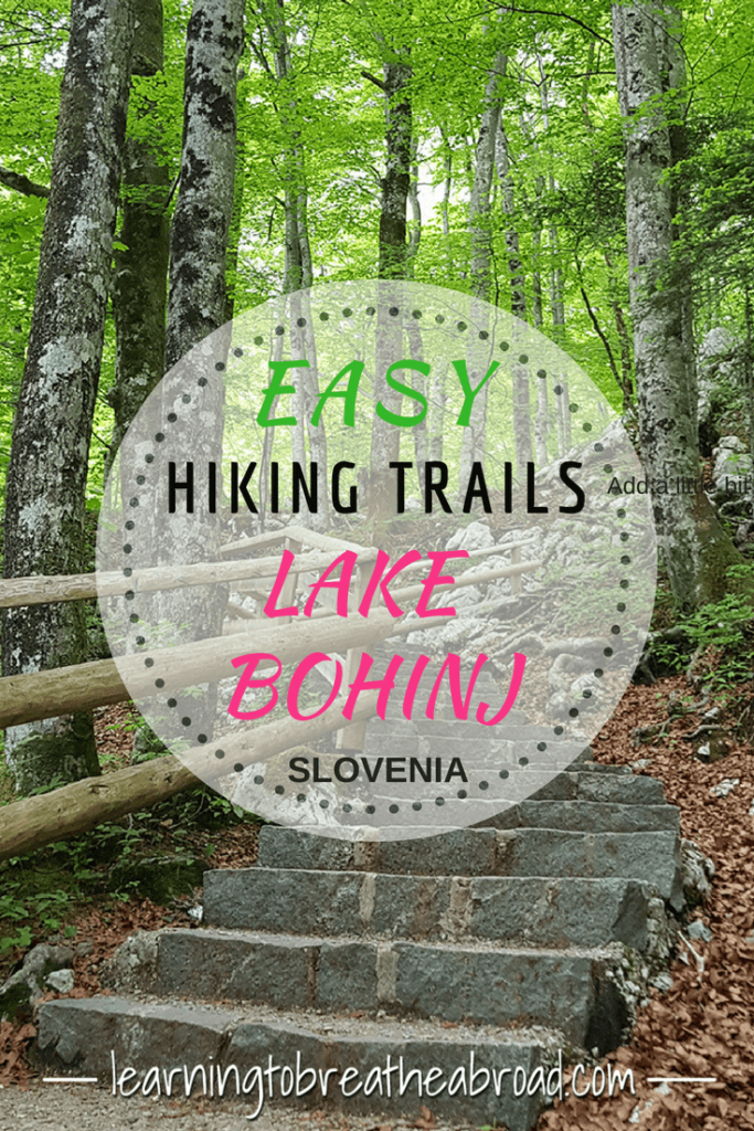 Easy hiking trails around Lake Bohinj in Slovenia | Things to do in Lake Bohinj | Hiking to Savica Waterfall | Hiking up Monestrika Gorge | Day Trips from Lake Bled | Things to do in Slovenia #lakebohinj #savicawaterfall #hikingslovenia
