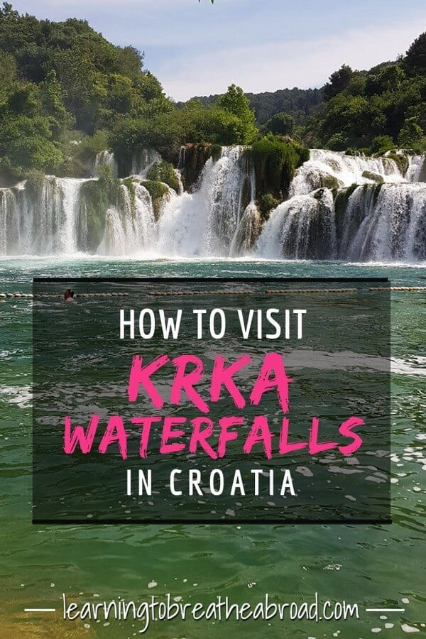 How to visit Krka Waterfalls in Croatia