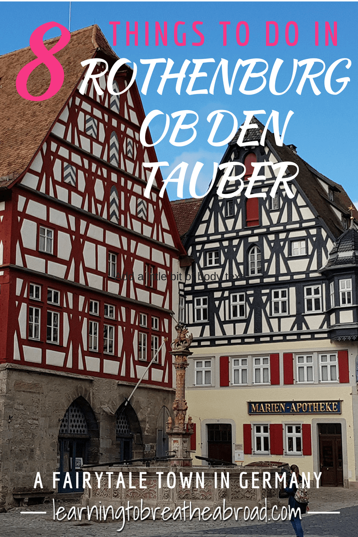 8 Things to do in Rothenburg Ob Den Tauber, Germany's fairytale town. Things to see and Do in Rothenburg Medieval town. Museums, Churchs, Towers, Fortified Walls and more. | Germany Travel | Europe Travel