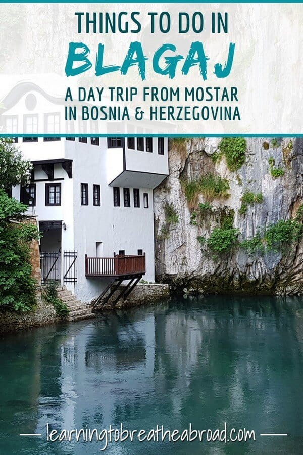 Things to do in Blagaj - a Day trip from Mostar in Bosnia & Herzegovina