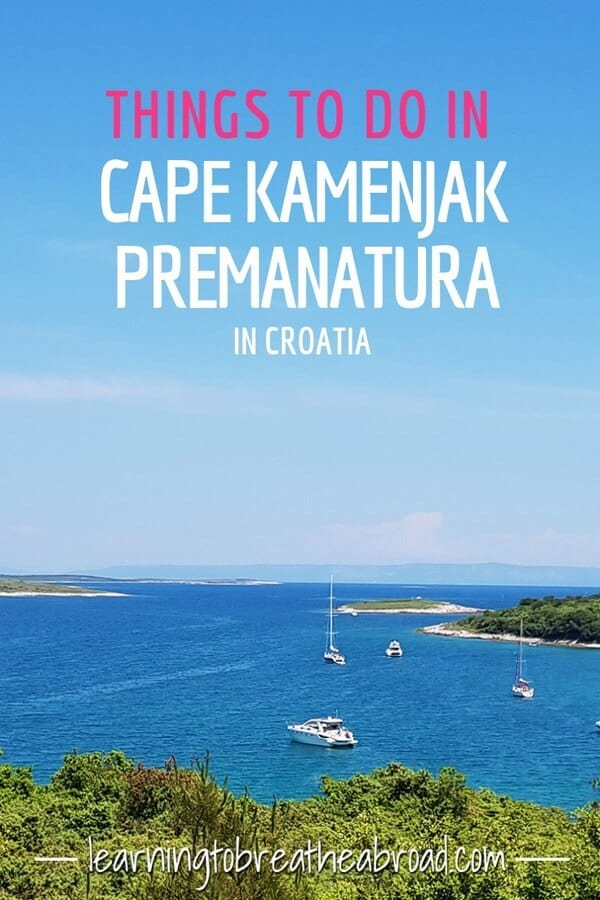 Things to do in Cape Kamenjak known as Premanatura in Croatia