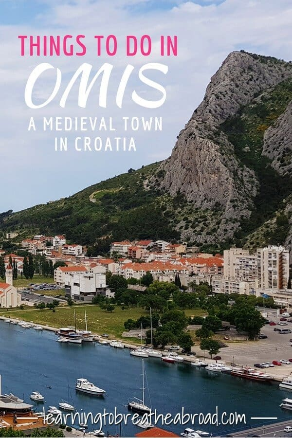 Things to do in Omis, a medieval town in Croatia